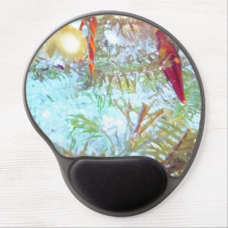 Holiday Ornaments in the Light Gel Mouse Pad