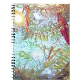 Holiday Ornaments in the Light Notebook