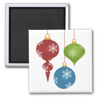 Holiday Ornaments Magnet