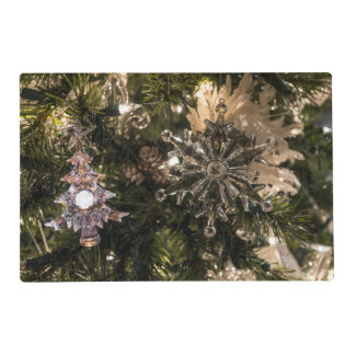 Holiday Ornaments Placemat
