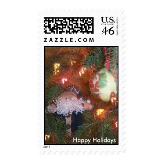 Holiday Ornaments stamp