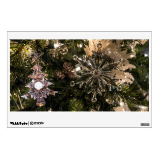 Holiday Ornaments Wall Sticker