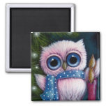 HOLIDAY OWL 1 Magnet