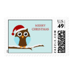 Holiday Owl Postage