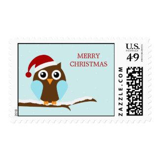 Holiday Owl Postage