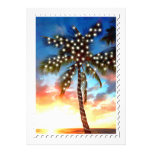 Holiday Palm Tree Lights at Sunset Announcements