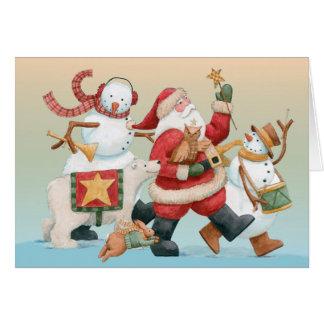 Holiday Parade Card