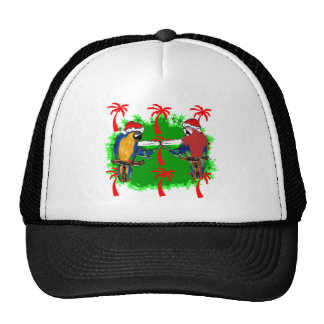 HOLIDAY PARROTS TRUCKER HAT