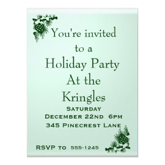 Holiday Party Card