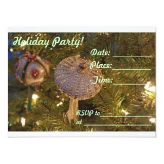 Holiday Party, Christmas, New Year, Invitation