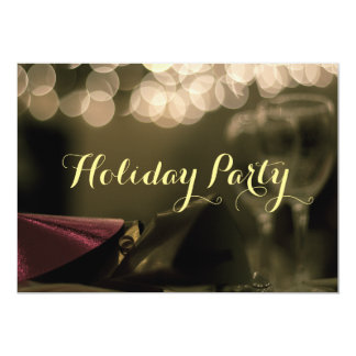 Holiday Party (Corporate) Card by RoseWrites