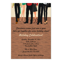Holiday Party Couples Invitation