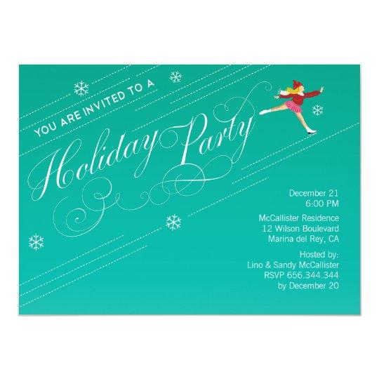 Holiday Party Custom Invitations