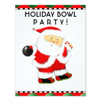Holiday Party Personalized Invites