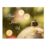 Holiday Party Invitation postcards