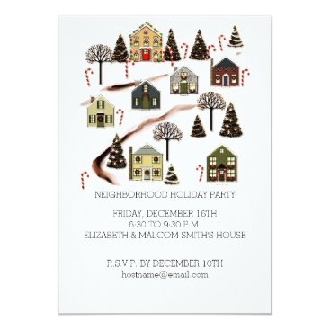 christmastee Holiday Party Invitations
