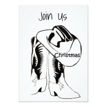 ***HOLIDAY PARTY*** INVITATIONS COUNTRY CHRISTMAS