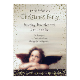 Holiday Party w/ Angel Card