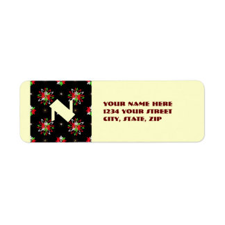 Holiday Pattern Brights Label