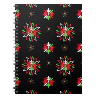 Holiday Pattern Brights Notebook