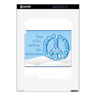 Holiday Peace iPad 2 Decal