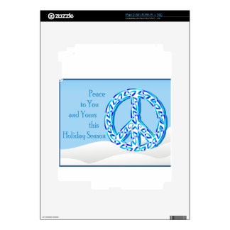 Holiday Peace Skins For iPad 2