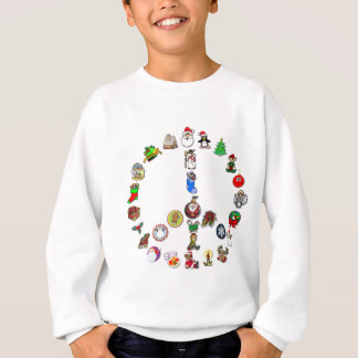 Holiday Peace Sweatshirt