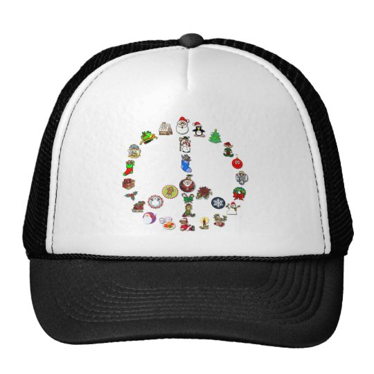 Holiday Peace Trucker Hat