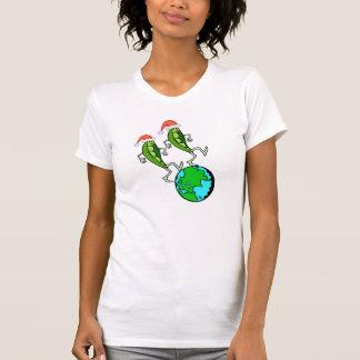 Holiday Peas on Earth Dresses