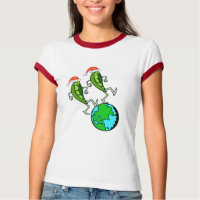 Holiday Peas on Earth T-Shirt