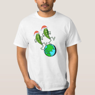 Holiday Peas on Earth T Shirt