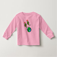 Holiday Peas on Earth Toddler T-shirt