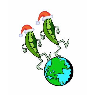Holiday Peas on Earth zazzle_shirt