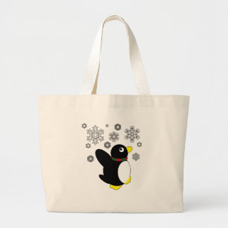 Holiday Penguin Bag