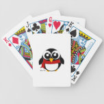 Holiday Penguin Bicycle Card Decks