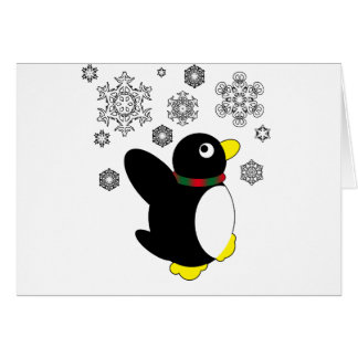 Holiday Penguin Card