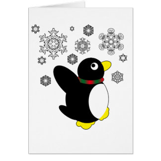 Holiday Penguin Cards