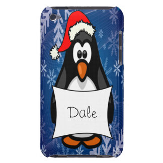 Holiday Penguin Barely There iPod Covers