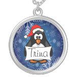 Holiday Penguin Custom Necklace