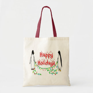 Holiday Penguins Bags