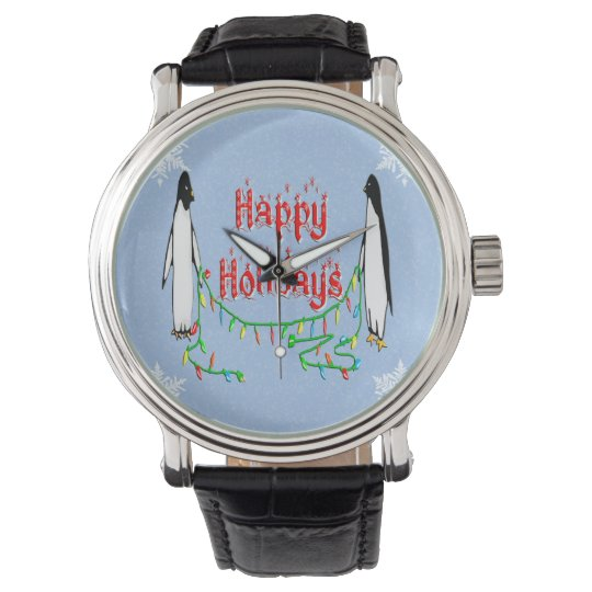 Holiday Penguins Watch