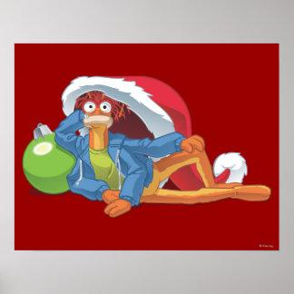 Holiday Pepe 2 Print