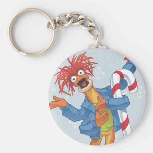 Holiday Pepe Key Chain