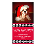 Holiday Personalizable Photo Card - Happy Pawliday
