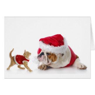 Holiday Pets Card