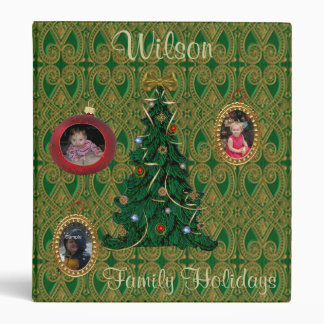 Holiday Photo Album Binder