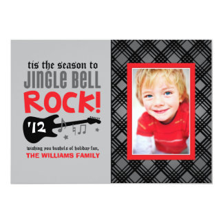 Holiday Photo Card | Jingle Bell Rock Theme