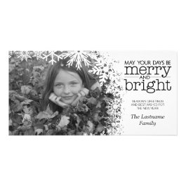 Holiday Photo Card: Let It Snow!