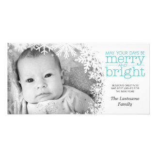 Holiday Photo Card: Let It Snow! Photo Card