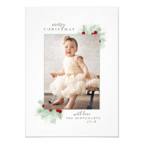 Holiday Photo Card *Let's Be Merry*